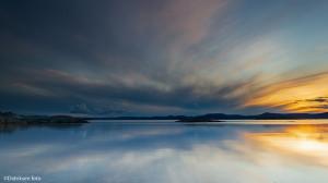 Speilende skyer